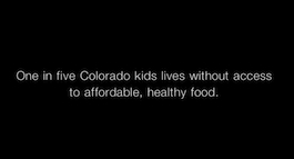Screencapture of LiveWell Colorado childhood obesity TV spot