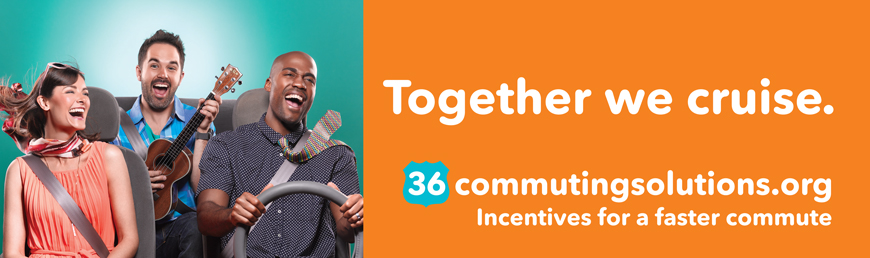 "36 Commuting Solutions Ad ""Together We Cruise"""