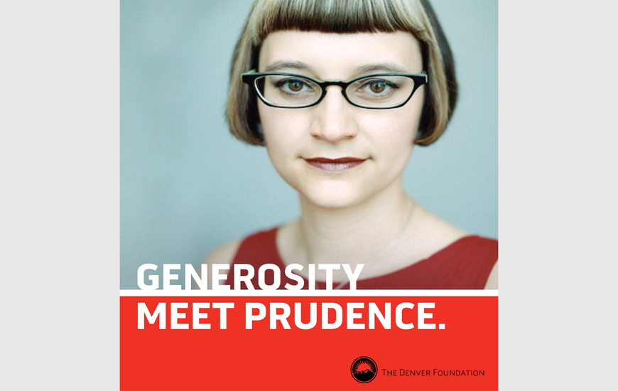 "Denver Foundation Ad - ""Prudence"""